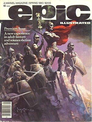 Us Comics Epic Illustrated #1-34 Full Collection On Dvd