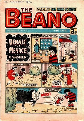 Uk Comics The Beano 250+ Humour Comics From 1975-1979 On Dvd Complete Run