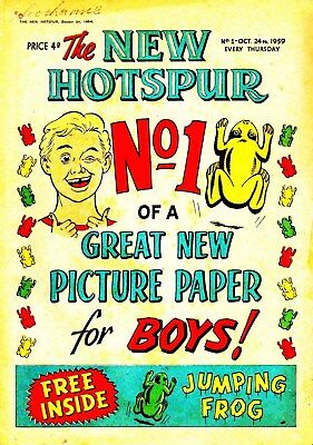 The Hotspur Collection Of 1000+ Adventure Comics On Dvd