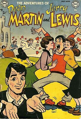 Us Comics Adventures Of Dean Martin And Jerry Lewis Silver Age Collection On Dvd