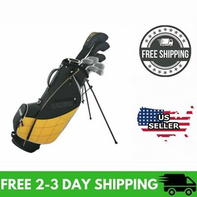 Wilson Ultra 2017 Men's Complete 13 Piece Right Handed Golf Club Set & Stand Bag