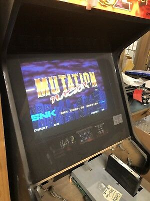 Mutation Nation- SNK Neo Geo Arcade MVS Cartridge With Mini Marquee