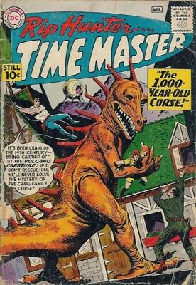 Us Comics Rip Hunter Time Master #1-29 Silver Age Collection On Dvd