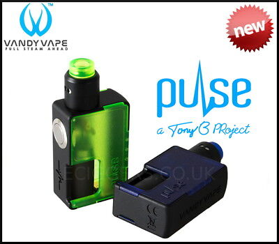 VANDY VAPE Pulse BF Squonk Kit Frost - NEW FOR 2018 - 100% Genuine