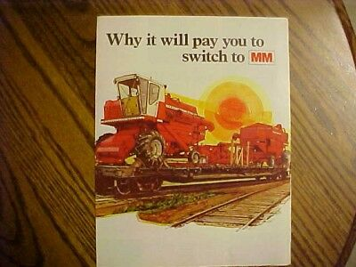 2-1960's Minneapolis-Moline Brochure's  2 pages each