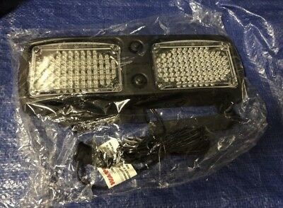 Whelen Flatlighter Flled Led Visor Light Special Order Amber White New $335 Msrp