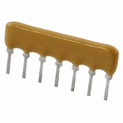 5-Pin. SIP-5 Bussed Type 20x 470 OHM Thick Film Network Array Resistor