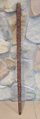Vintage Blackthorn Shillelagh Knotty Wood Walking Stick