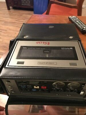 Panasonic AG-6400 for VHS recording used
