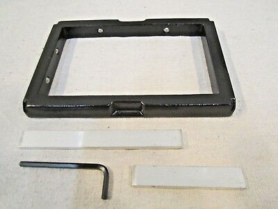 Kelsey Excelsior 3 X 5 Letterpress Type Chase With Quoin Bars Original Excellent