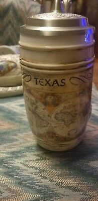 1996 Texas Renaissance Dragonslayer Numbered Hinged Top Stein