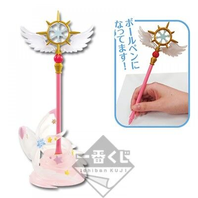 Cardcaptor Sakura Ichiban Kuji Dream wand pen with stand Japan Official Twinkle
