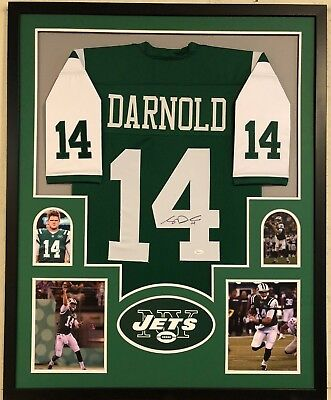 87188dcfeed ROBBY ANDERSON AUTOGRAPHED New York Jets Green Jersey JSA Witnessed ...