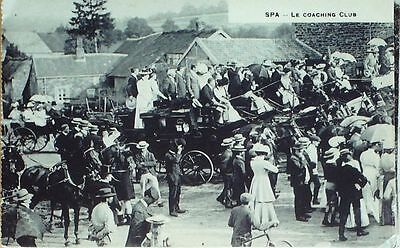 Cpa-A344-Fetes-Coatching Club-Spa-Belgique-1905