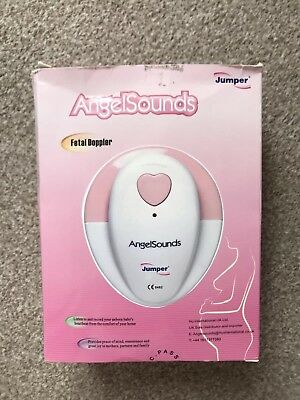 AngelSounds Fetal Doppler Prenatal Baby Heart Monitor.