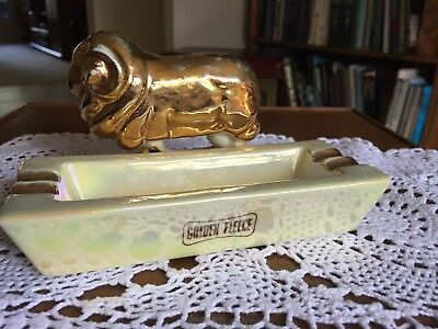 Golden Fleece -  Vintage Wembley Ware Ash Tray