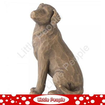Willow Tree - Figurine Love My Dog (Dark) Collectable Gift NEW