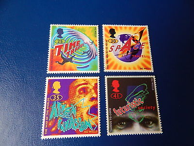 gb stamps s g 1878-1881. Science Fiction.Novels by H.G.Wells.
