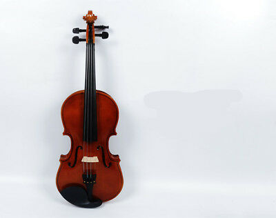 D40 Handmade 4/4 Full Size Wooden Violin Beginners Practice Musical Instrument M