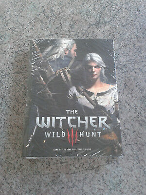 The Witcher 3 - Wild Hunt - Game of the Year (GOTY) Collector's Guide - Neu/New