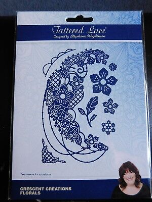 CRESCENT CREATIONS FLORALS DIE SET 436544 - TATTERED LACE - Stephanie Weightman
