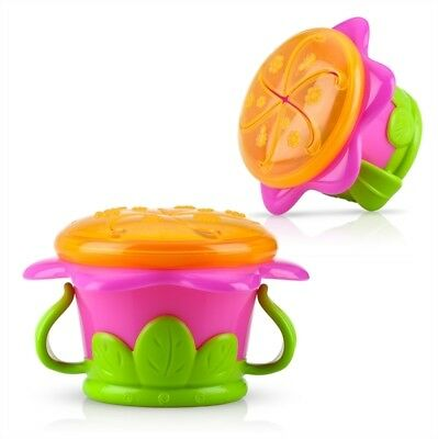 Nuby  Flower Child Girls  Snack Keeper  Suitable for Age 12m+ Bpa Free