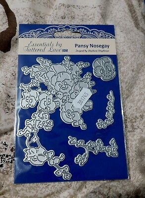 PANSY NOSEGAY DIE ETL405 - Tattered Lace Stephanie Weightman