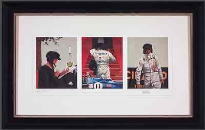 Jack Vettriano picture - Framed Limited Edition - Tension, Timing and Triumph