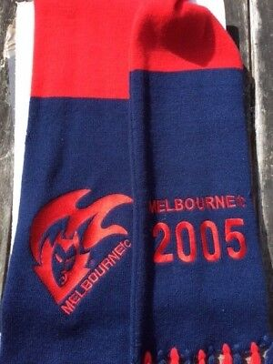 Melbourne Football Club 2005 Members' Scarf
