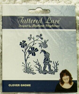 CLOVER GNOME DIE TLD0700 - Tattered Lace Stephanie Weightman