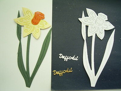 Single DAFFODIL DIE TLD0251 - Tattered Lace Stephanie Weightman - Stunning Die