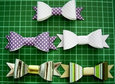 3 piece GIFT BOW TEMPLATE / DIE SET - THE ARTISTRY COLL. BY COUTURE DIES