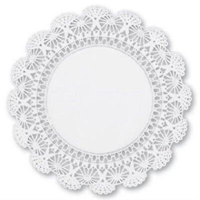 "200 ct. 12"" Cambridge Paper Lace Doilies  White Wedding Decor"