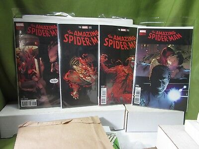 AMAZING SPIDER-MAN #794 795 796 797 (3rd and 2nd PRINTS) VARIANTS  COPIES VF-NM