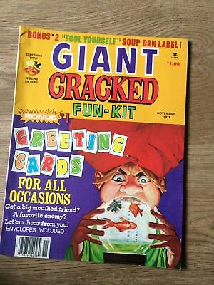Giant Cracked Fun-Kit (Us Edition) / November 1978