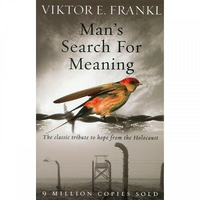 NEW Man's Search For Meaning Paperback (Free Shipping)