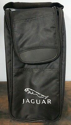 Jaguar Collectible Wine Cooler Case Cozy Holder With Opener A5-14