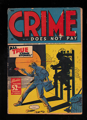 Crime Does Not Pay 42 Electric chair cover