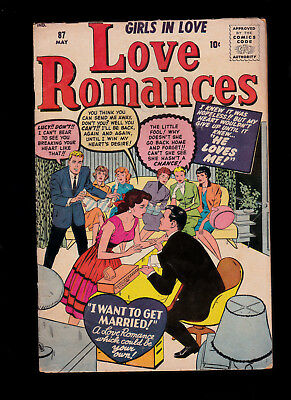 Love Romances 87 Kirby cover Russ Heath art