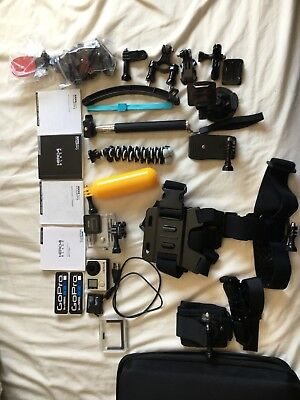 Gopro Hero 4 Black With Accessories Kit