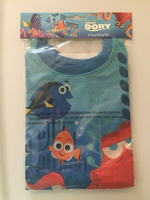 Finding Dory 2-piece Flame Resistant Pajamas, Size 3T