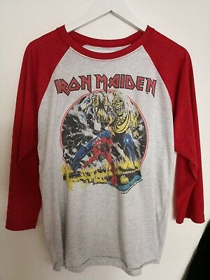 IRON MAIDEN Shirt The Number of The Beast 1982 /Metallica/Slayer/GNR/Megadeth
