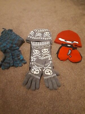 Boys Hat and scarf bundle age 5-7