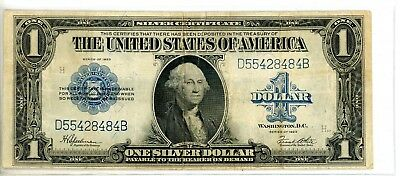 1923 $1 Silver Certificate !! Old Us Currency Speelman & White !! #8484