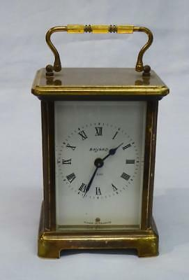 8 Day Carriage Clock By French Maker Bayard
