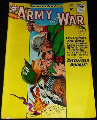 1963 DC comics Our Army at War see both images for condition