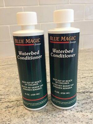 Blue Magic All Purpose Waterbed Conditioner 238ml 8oz x 2 Bottles