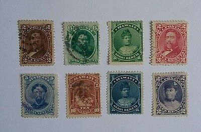 Hawaii 1875 - 1891 stamps