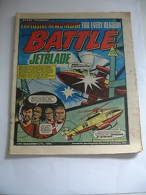 BATTLE  comic 1st October 1983