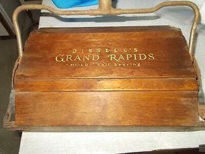 Bissell's GRAND RAPIDS Hi-Lo Ball Bearing Sweeper with Handle